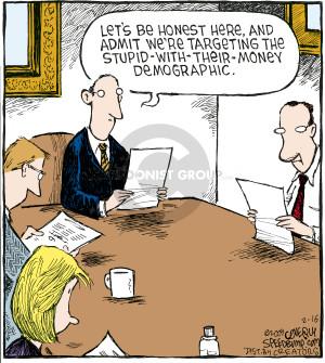 Comic Strip Dave Coverly  Speed Bump 2009-02-16 admit