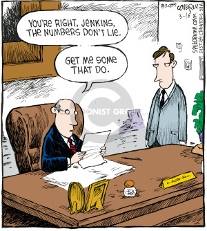 Comic Strip Dave Coverly  Speed Bump 2009-03-16 financial loss