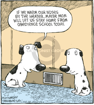 Comic Strip Dave Coverly  Speed Bump 2009-04-10 obedience