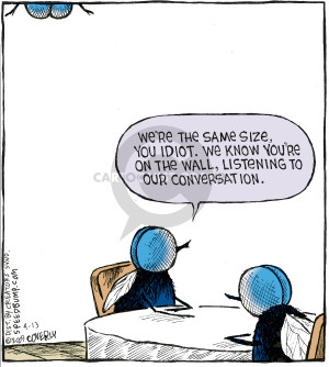 Comic Strip Dave Coverly  Speed Bump 2009-04-13 conversation