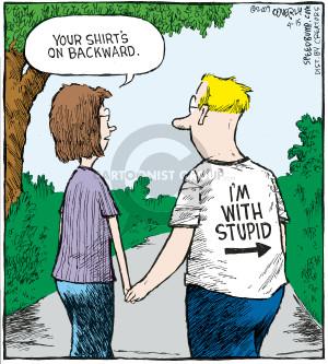 Cartoonist Dave Coverly  Speed Bump 2009-04-15 forward