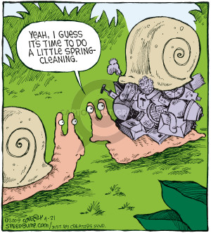 Comic Strip Dave Coverly  Speed Bump 2009-04-21 snail