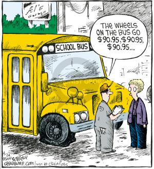 Cartoonist Dave Coverly  Speed Bump 2009-04-24 maintenance