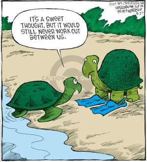 Comic Strip Dave Coverly  Speed Bump 2009-04-27 difference