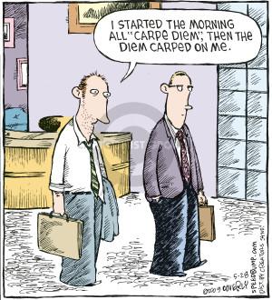 Cartoonist Dave Coverly  Speed Bump 2009-05-28 optimism
