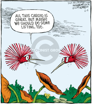 Comic Strip Dave Coverly  Speed Bump 2009-06-03 bird