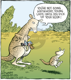 Comic Strip Dave Coverly  Speed Bump 2009-06-15 duty