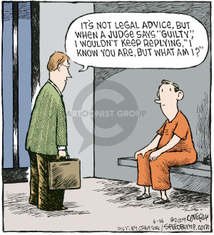 Comic Strip Dave Coverly  Speed Bump 2009-06-16 legal advice