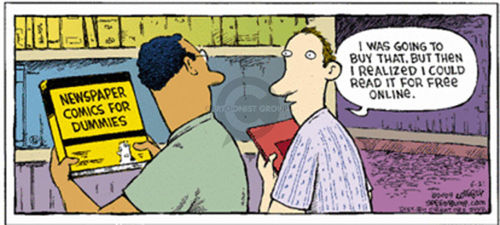 Comic Strip Dave Coverly  Speed Bump 2009-06-21 online newspaper