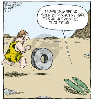 Cartoonist Dave Coverly  Speed Bump 2009-06-22 invention