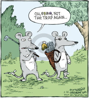 Comic Strip Dave Coverly  Speed Bump 2009-06-26 bandage