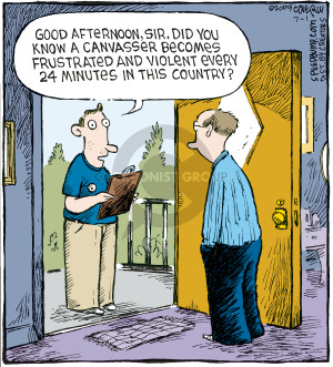 Comic Strip Dave Coverly  Speed Bump 2009-07-01 violence