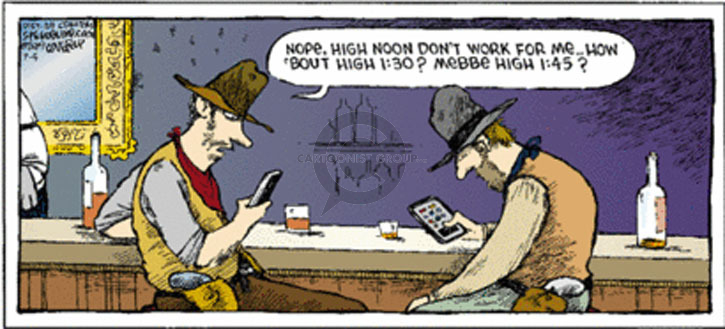 Comic Strip Dave Coverly  Speed Bump 2009-07-05 gun