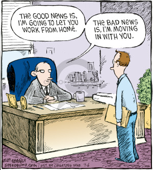 Cartoonist Dave Coverly  Speed Bump 2009-07-06 unemployment
