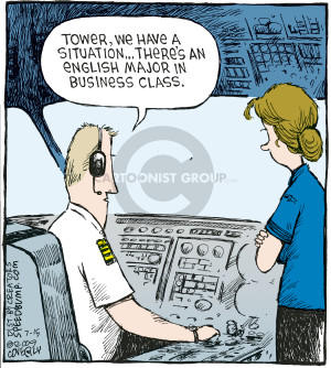 Comic Strip Dave Coverly  Speed Bump 2009-07-15 business class