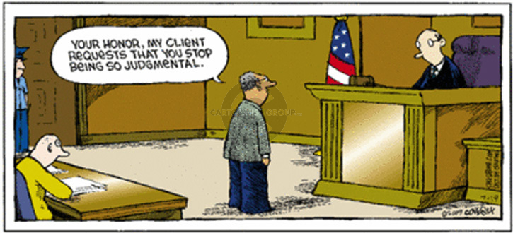 Cartoonist Dave Coverly  Speed Bump 2009-07-19 law