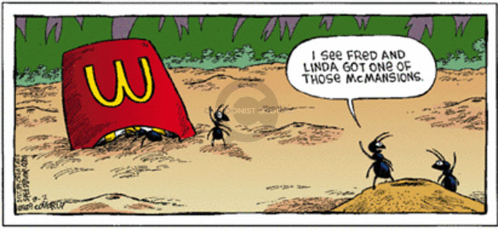 Comic Strip Dave Coverly  Speed Bump 2009-08-02 real