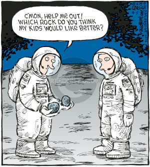 Comic Strip Dave Coverly  Speed Bump 2009-08-05 astronaut