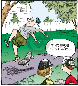 Comic Strip Dave Coverly  Speed Bump 2009-08-17 rider
