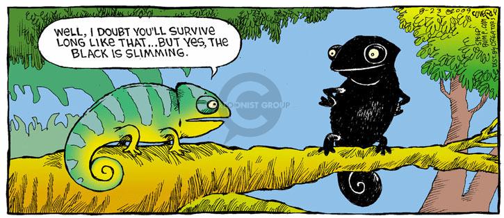 Comic Strip Dave Coverly  Speed Bump 2009-08-23 thin