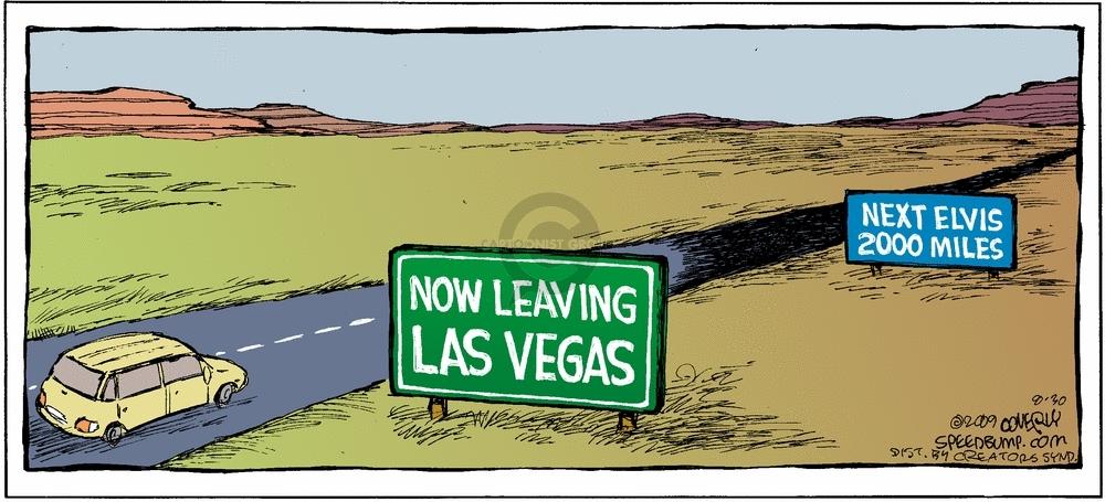Comic Strip Dave Coverly  Speed Bump 2009-08-30 tourist