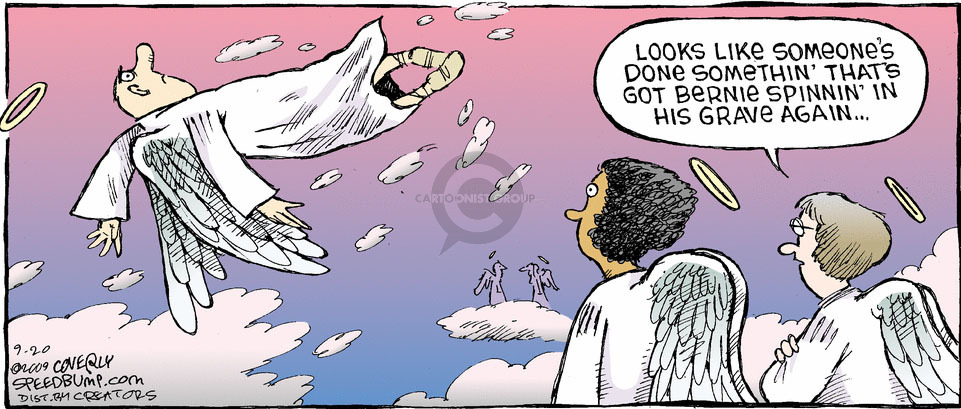 Comic Strip Dave Coverly  Speed Bump 2009-09-20 grave