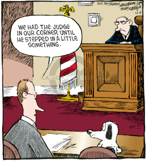 Cartoonist Dave Coverly  Speed Bump 2009-10-06 law