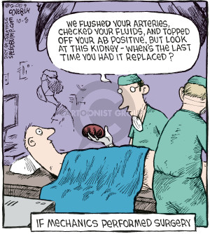 Comic Strip Dave Coverly  Speed Bump 2009-10-08 operating room