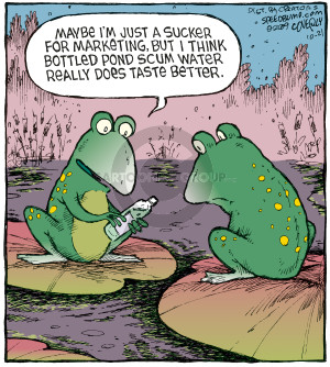 Comic Strip Dave Coverly  Speed Bump 2009-10-21 advertising