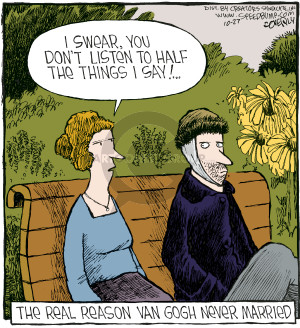 Comic Strip Dave Coverly  Speed Bump 2009-10-27 Vincent Van Gogh