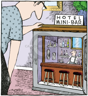 Comic Strip Dave Coverly  Speed Bump 2009-10-28 amenity