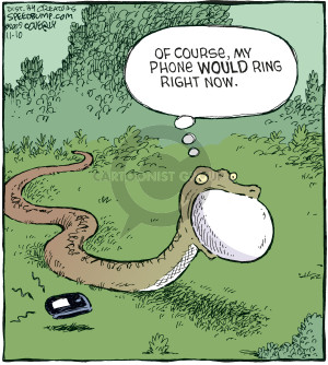 Comic Strip Dave Coverly  Speed Bump 2009-11-10 mobile device