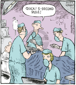 Comic Strip Dave Coverly  Speed Bump 2009-11-11 operating room