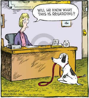 Comic Strip Dave Coverly  Speed Bump 2009-11-18 administrative