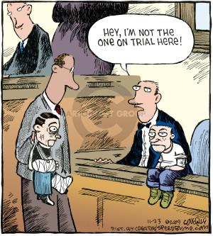 Comic Strip Dave Coverly  Speed Bump 2009-11-23 ventriloquism
