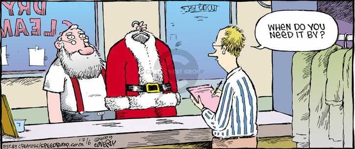 Comic Strip Dave Coverly  Speed Bump 2009-12-06 dry