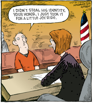 Cartoonist Dave Coverly  Speed Bump 2009-12-26 law