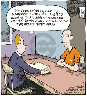 Comic Strip Dave Coverly  Speed Bump 2010-01-08 bad news
