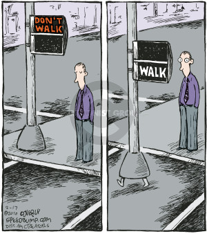 Comic Strip Dave Coverly  Speed Bump 2010-02-17 obedience