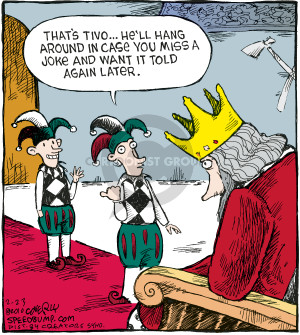 Cartoonist Dave Coverly  Speed Bump 2010-02-23 comedy