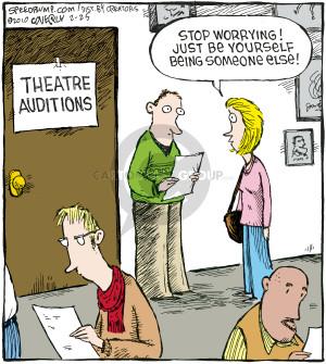 Comic Strip Dave Coverly  Speed Bump 2010-02-25 script