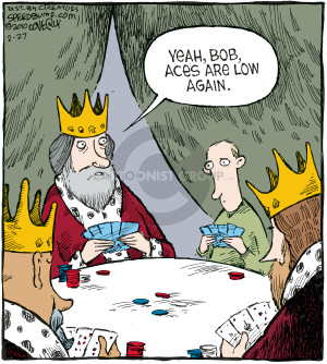 Comic Strip Dave Coverly  Speed Bump 2010-02-27 poker