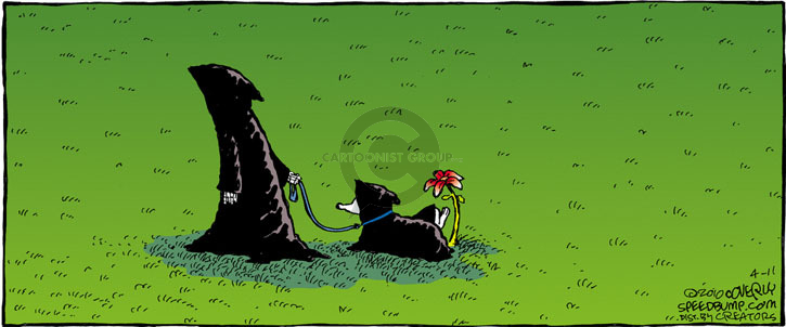 Comic Strip Dave Coverly  Speed Bump 2010-04-11 flower