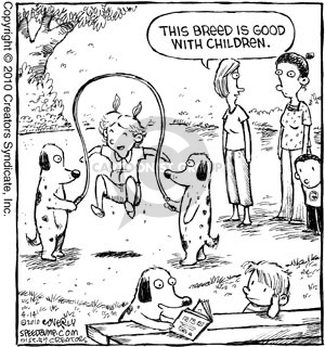 Comic Strip Dave Coverly  Speed Bump 2010-04-14 child behavior