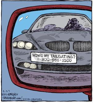 Comic Strip Dave Coverly  Speed Bump 2010-04-27 complain