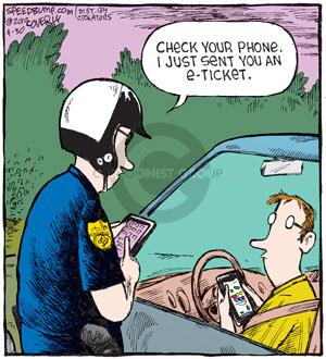 Comic Strip Dave Coverly  Speed Bump 2010-04-30 violation