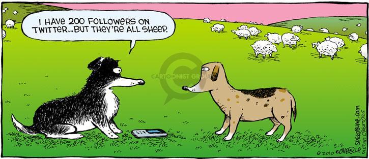 Comic Strip Dave Coverly  Speed Bump 2010-05-02 sheepdog