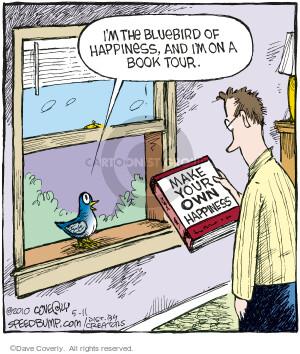 Cartoonist Dave Coverly  Speed Bump 2010-05-11 book tour