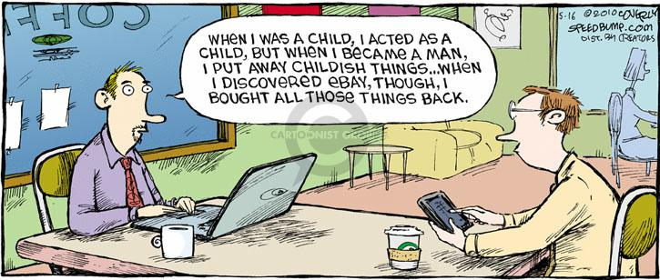 Comic Strip Dave Coverly  Speed Bump 2010-05-16 online shop