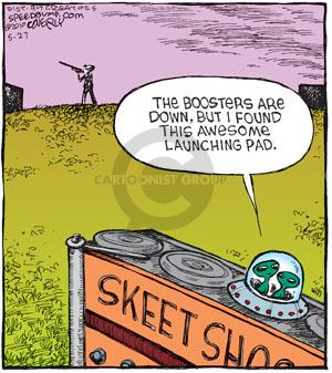 Comic Strip Dave Coverly  Speed Bump 2010-05-27 shooting